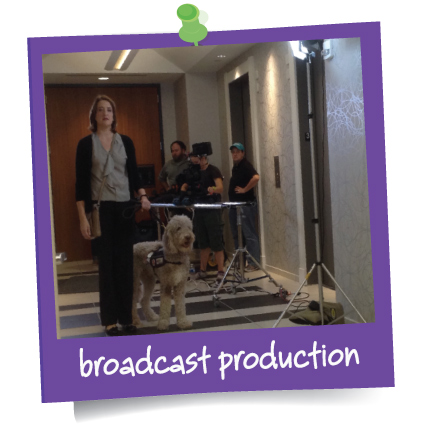 In the Present specializes in all elements of Broadcast Production