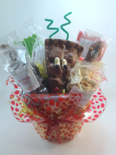 In the Present Holiday 15 Reindeer Gift Baskets