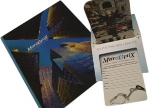 In the Present Print Production | Metro Optix Brochure