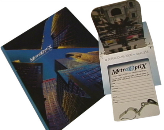 In the Present Print Production | Metro Optix Brochure