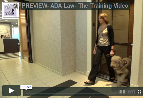 ADA Law- The Training Video|In the Present Video Production|Atlanta Georgia