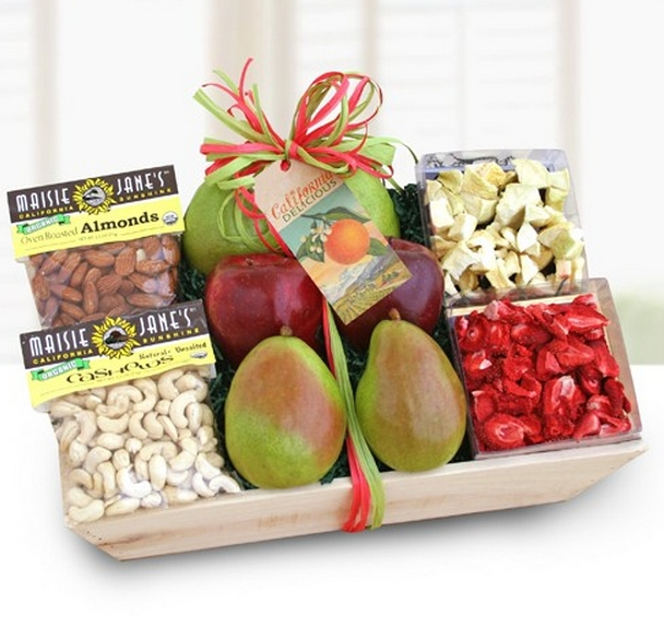 In the Present Holiday 2015 Organic Fruit Crate
