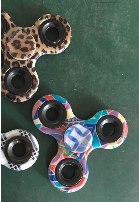 custom designed fidget spinner for your brand