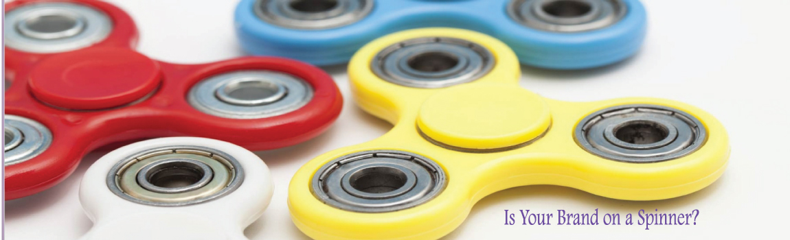 In the Present Promotional Products Atlanta Georgia can custom design spinners for your Brand