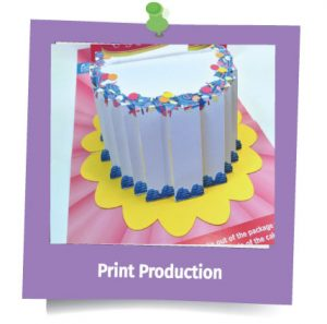 In the Present Print Production